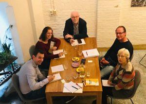 deelnemers aan de Workshop 'Holding Space' destijds onder de naam 'Krachtig Interveniëren'